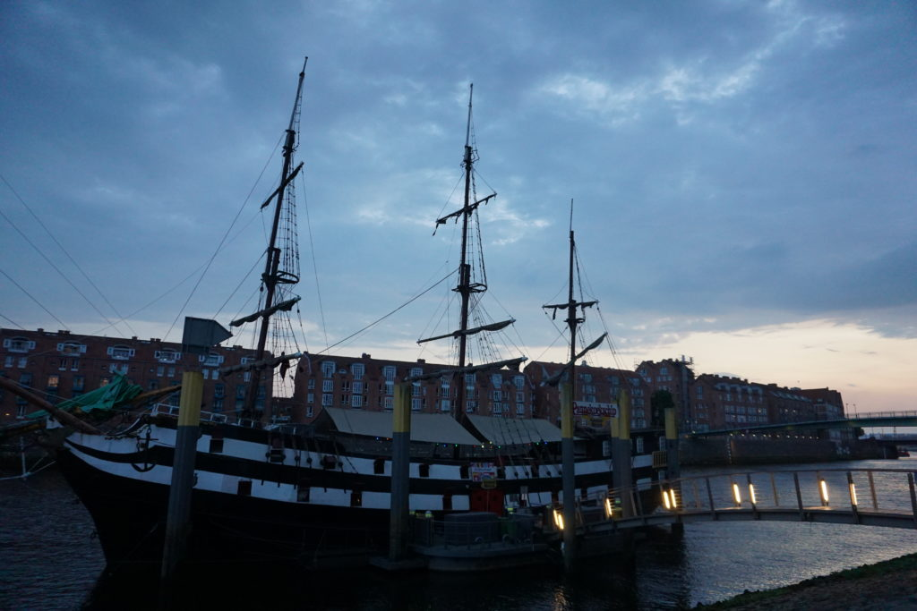Das Pannekoekschip Bremen