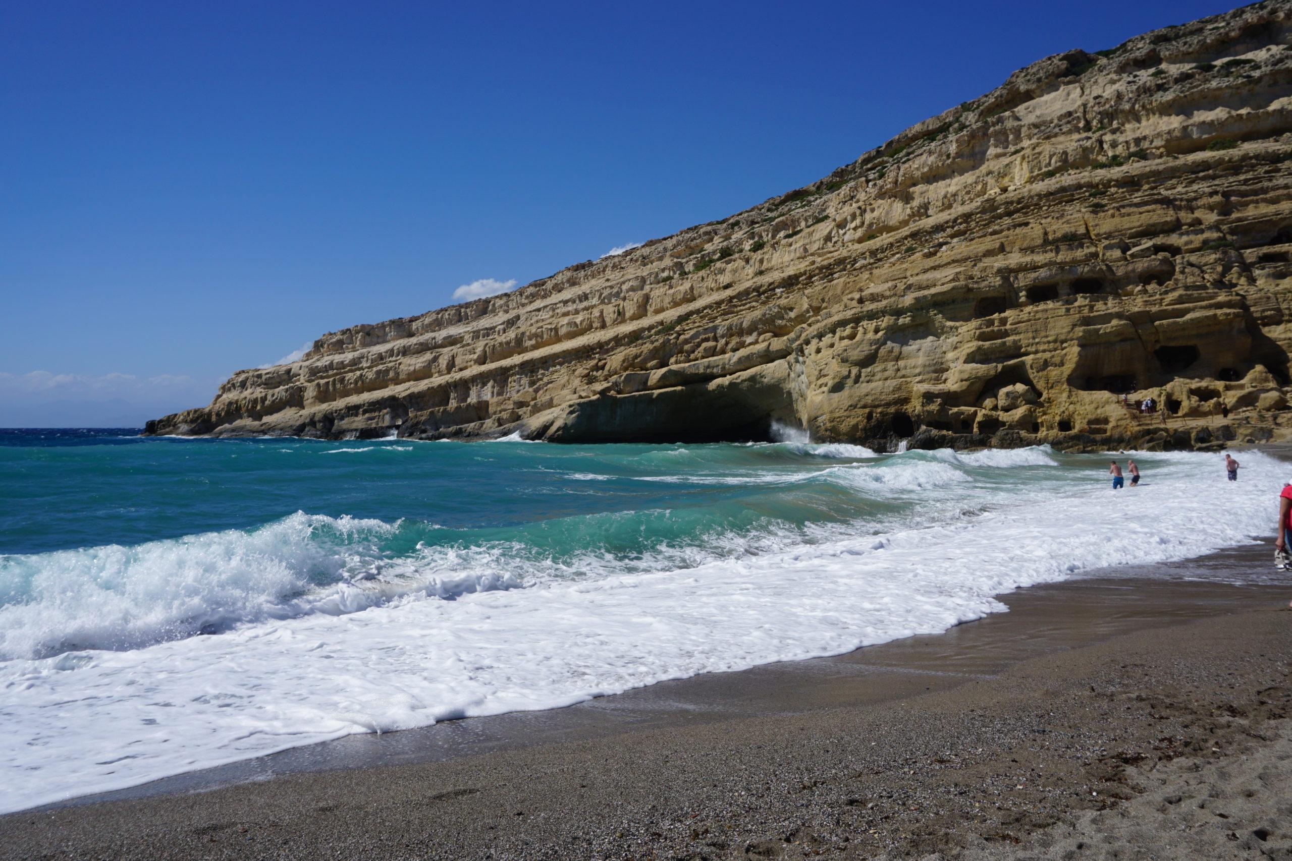 Bucht von Matala