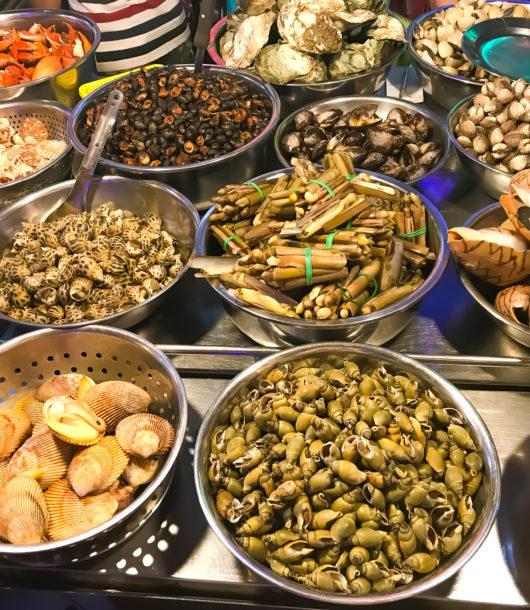 Meeresfrüchte Vietnam