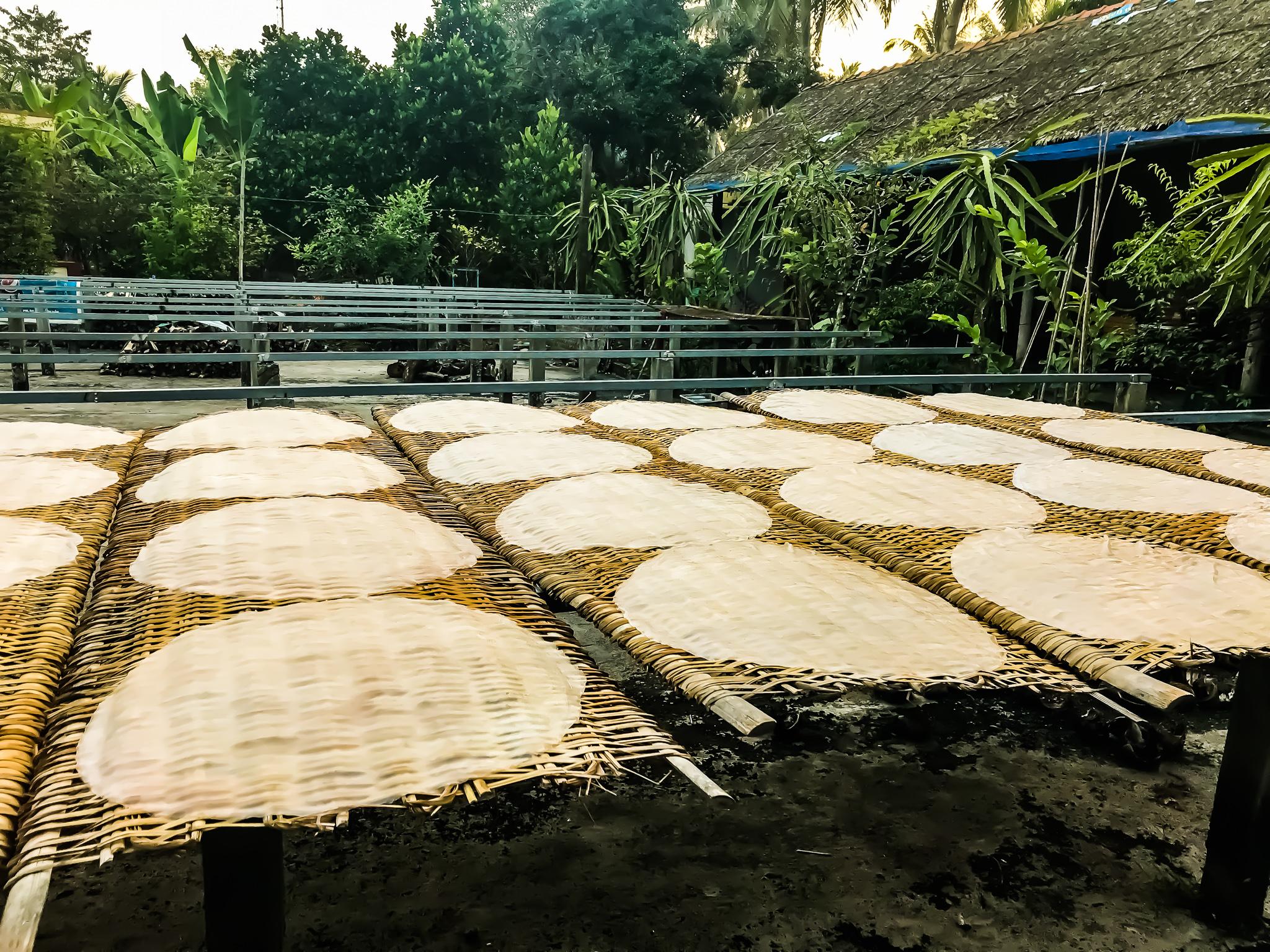 Reisblätterherstellung Vietnam