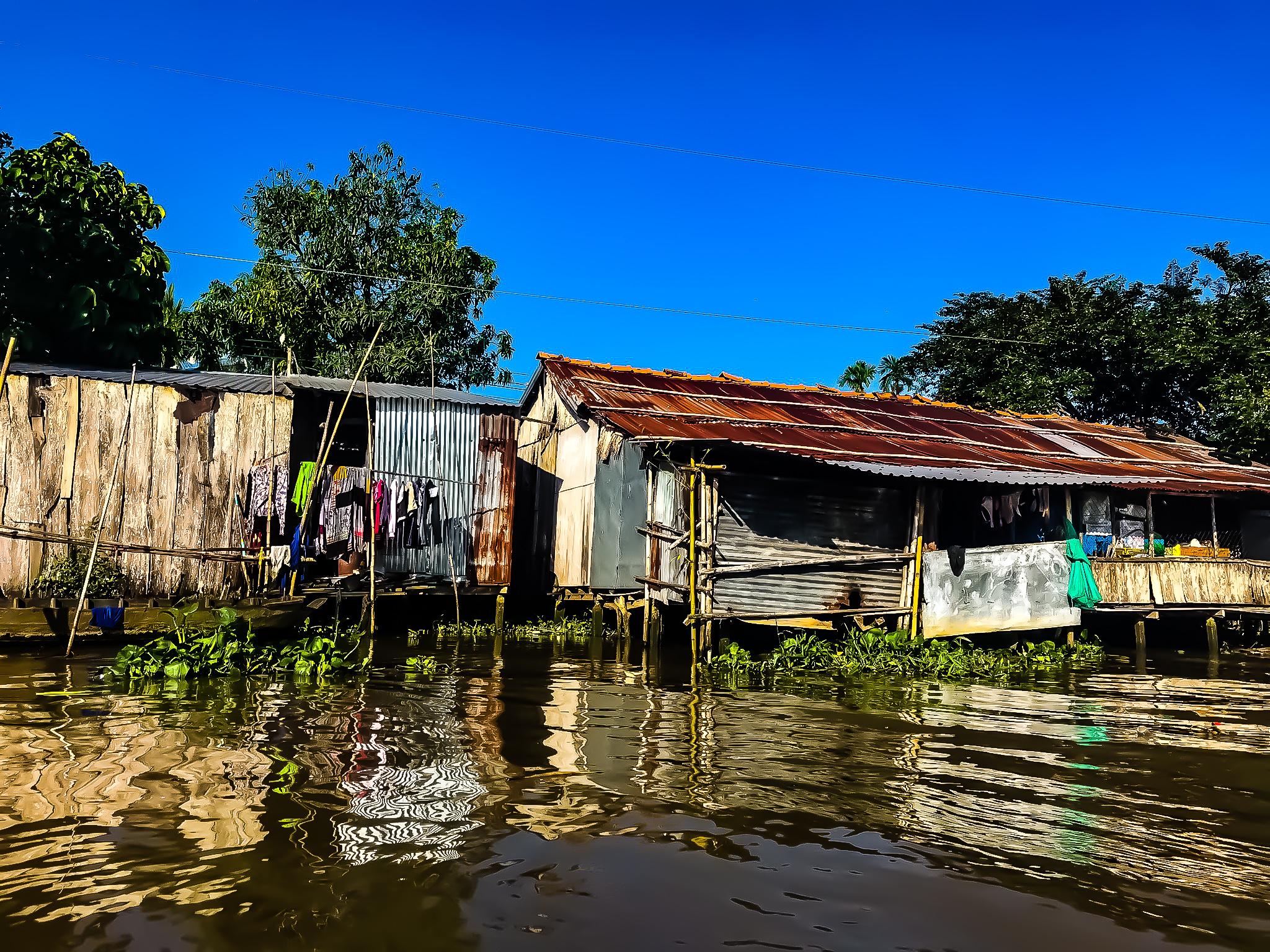 Leben am Mekong Fluss