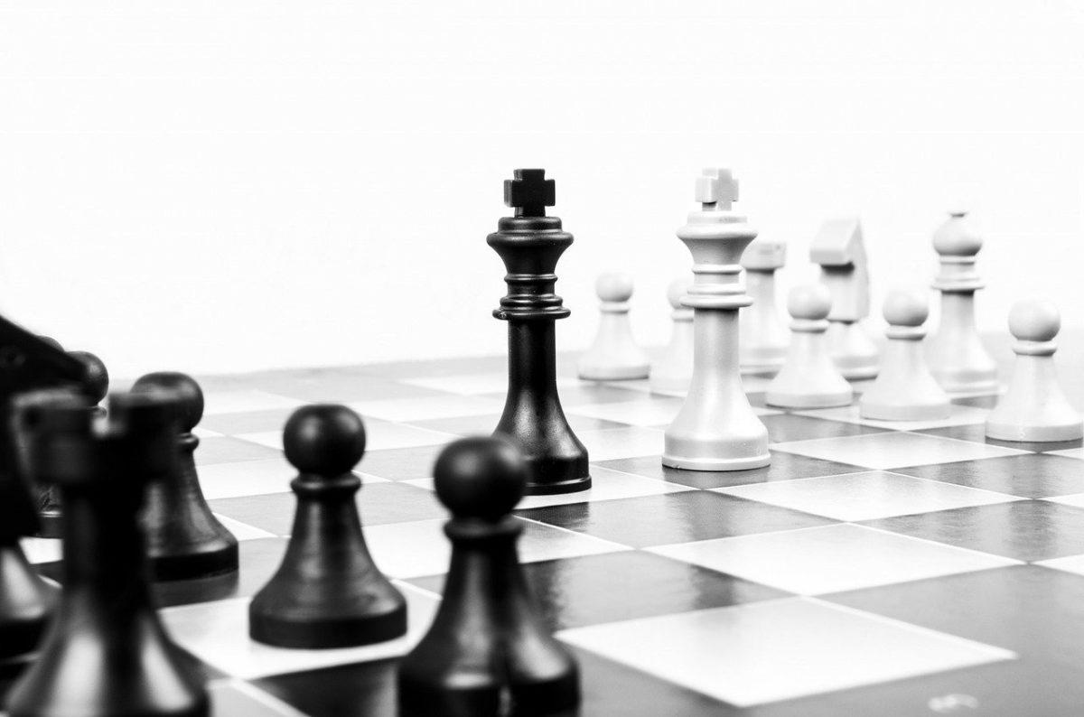 Schachspiel im Business