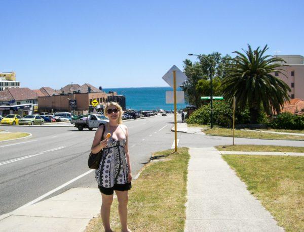 Cottesloe Beach Straßen