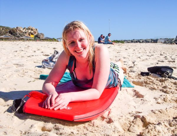 Body Boarden Cottesloe Beach
