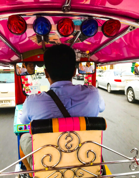 Tuk Tuk-Fahrer Bangkok